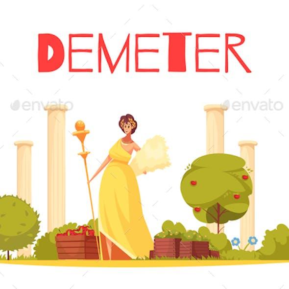 Demeter Cartoon Composition