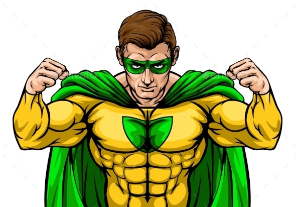 Superhero Cartoon Character - People Characters