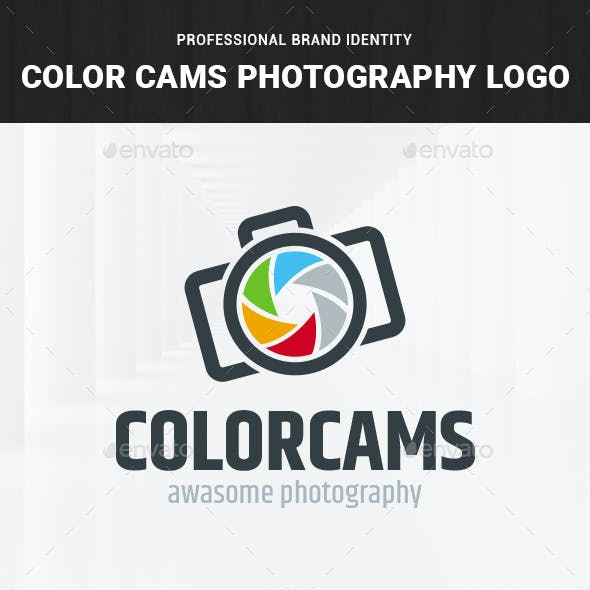 Color Cams - Photography Logo