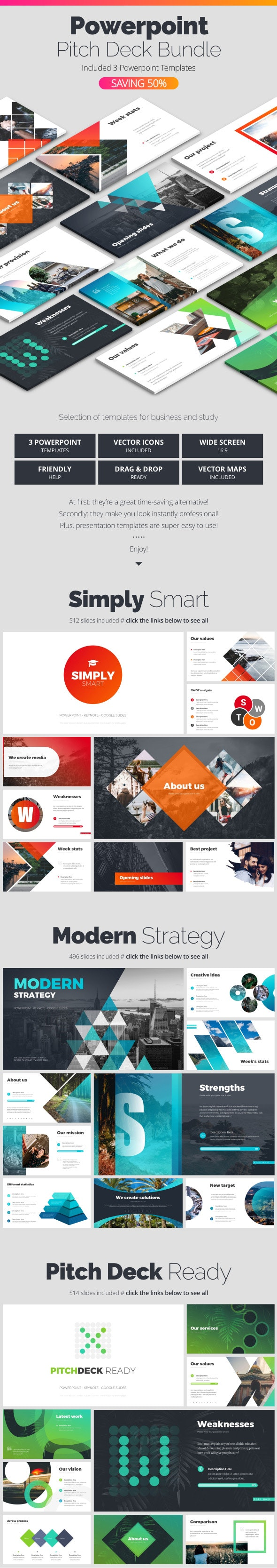 Powerpoint Bundle - Business PowerPoint Templates
