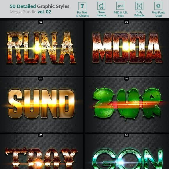 50 Text Effects - Bundle Vol. 02