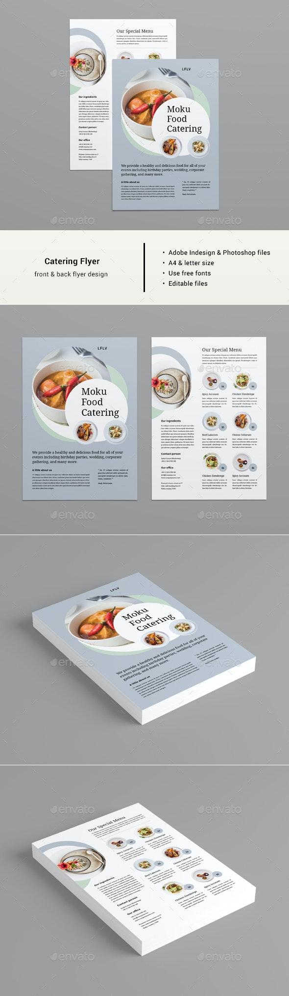 Catering Flyer - Restaurant Flyers