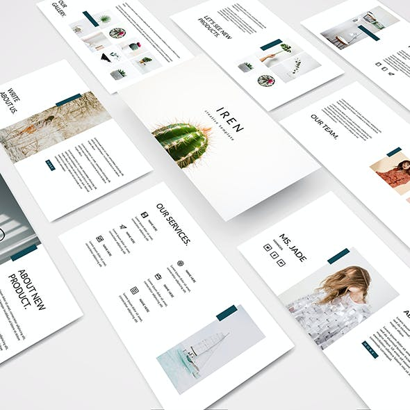Iren - Creative Powerpoint Template