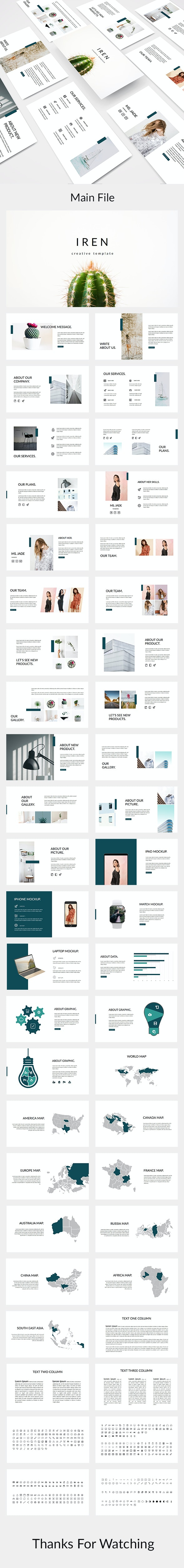Iren - Creative Powerpoint Template - Creative PowerPoint Templates