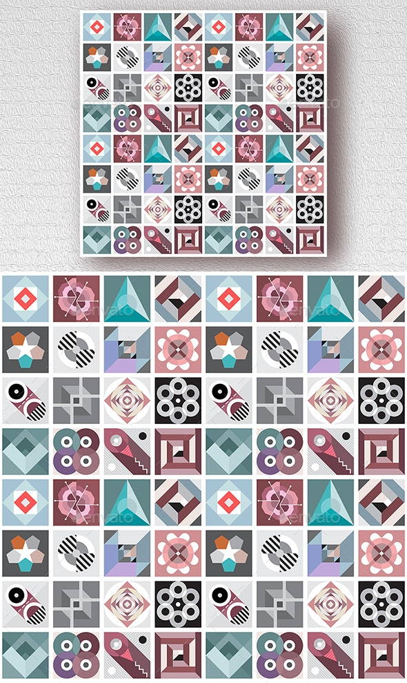 Decorative Geometric Patterns - Patterns Decorative