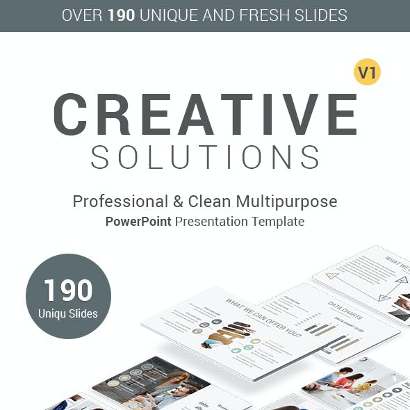 Creative Pack PowerPoint Presentation Template