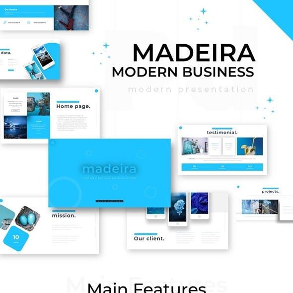 Madeira Modern Business Powerpoint