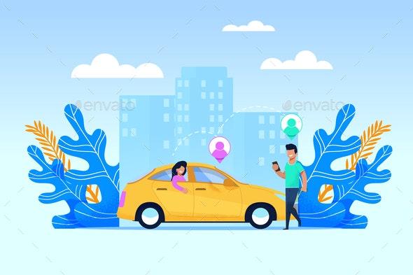Carpool Transport Service - Concepts Business