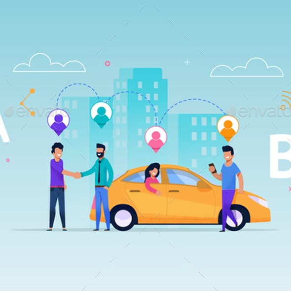 Taxi Carsharing Service