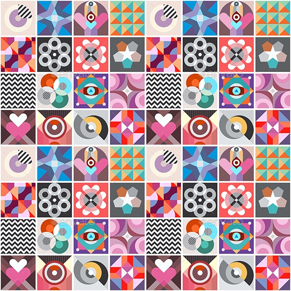 Abstract Geometric Patterns - Patterns Decorative