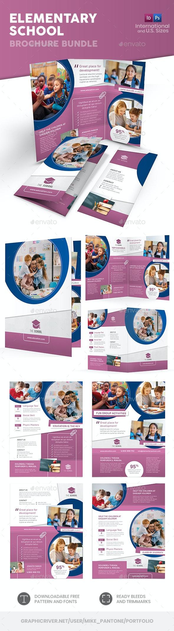 Elementary School Print Bundle - Informational Brochures