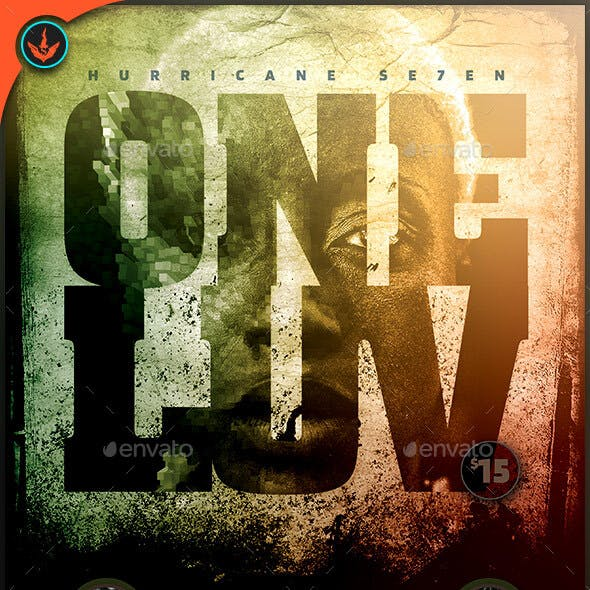 One Love: Flyer Template
