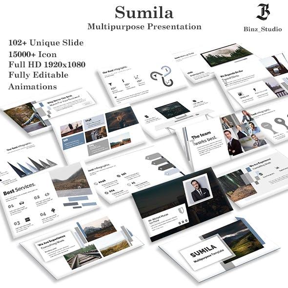 Sumila Multipurpose PowerPoint Template