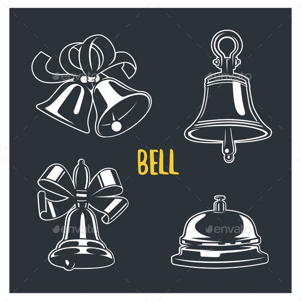 Bells - Miscellaneous Vectors