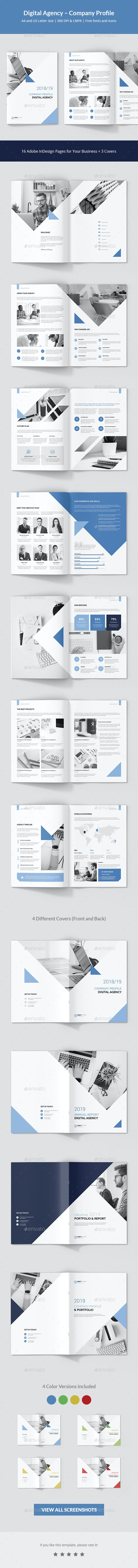 Digital Agency – Company Profile - Corporate Brochures