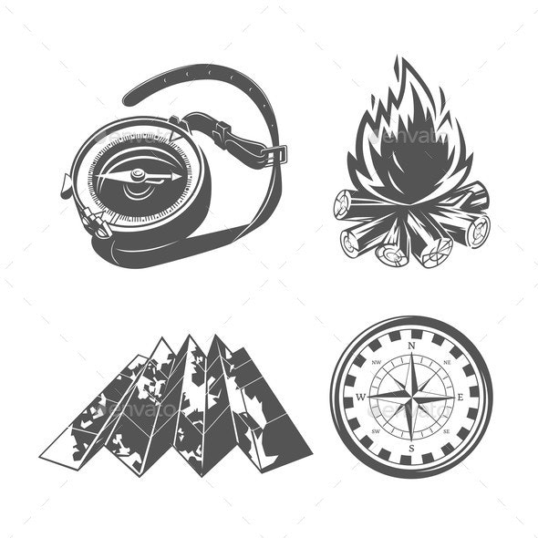 Camping Equipment - Miscellaneous Vectors
