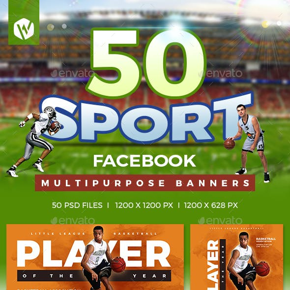 50 Facebook Sports Banners