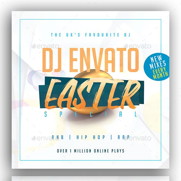 Easter Mixtape / CD Cover