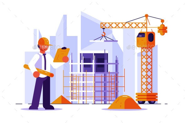 Architect and Construction Engineer - Industries Business