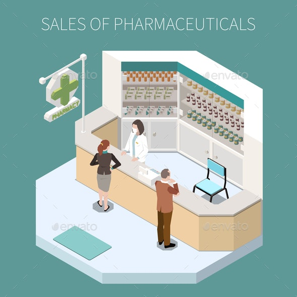 Isolated Pharmaceutical Production Composition - Health/Medicine Conceptual