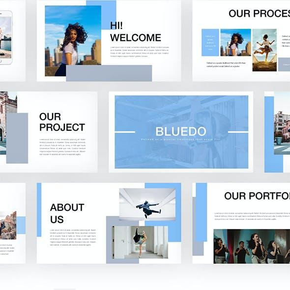 Bluedo - Google Slides Templates