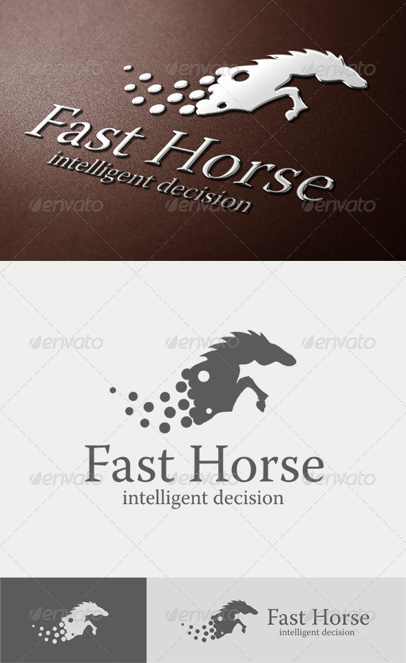 Fast Horse Logo - Animals Logo Templates