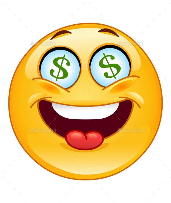 Dollar Emoticon - People Characters