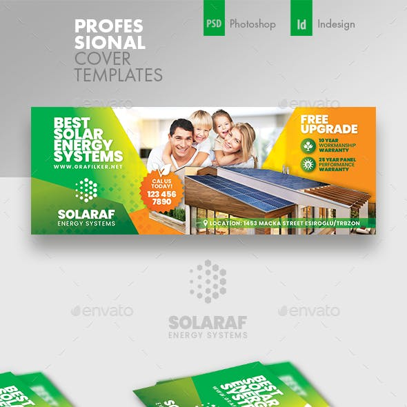 Solar Energy Cover Templates
