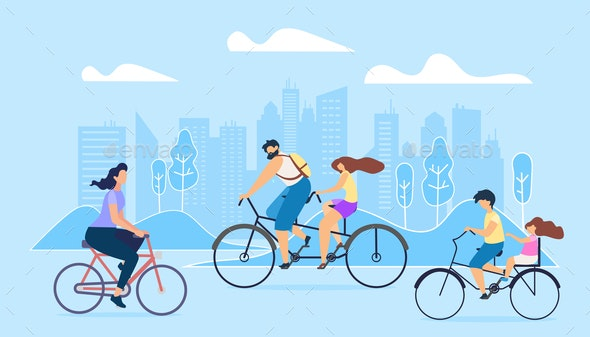 City Active Lifestyle - Sports/Activity Conceptual