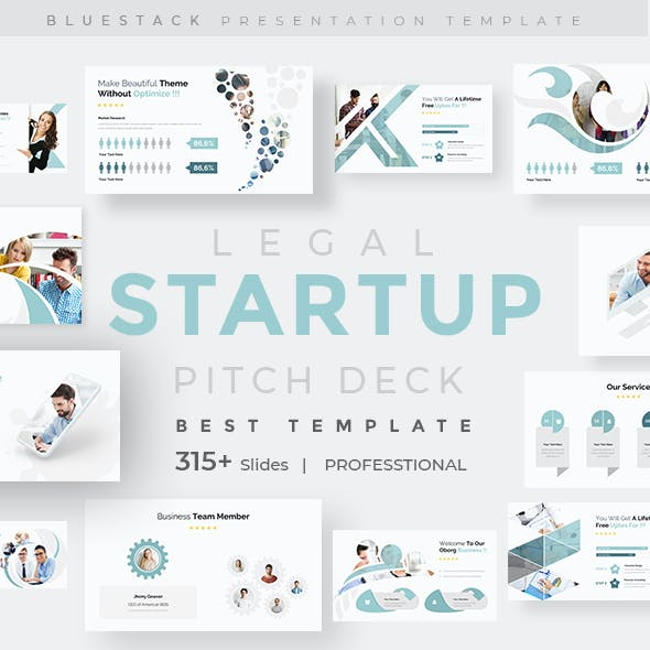 Legal Startup Pitch Deck Google Slide Template