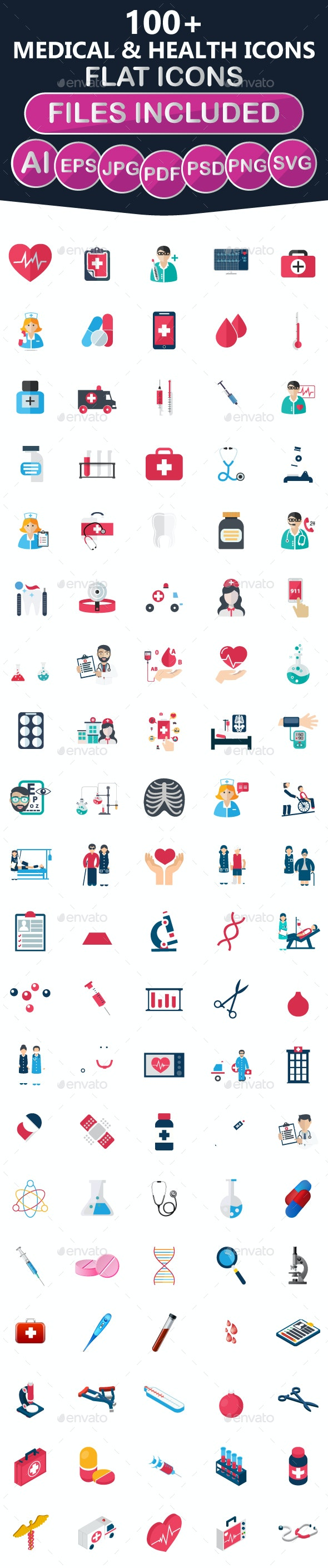 100+ Medical and Health Icons - Icons