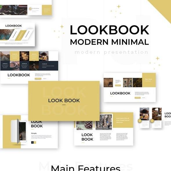 Lookbook Modern Minimal Powerpoint