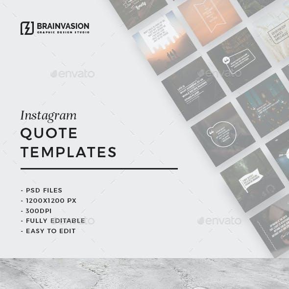 20 Instagram Quote Templates