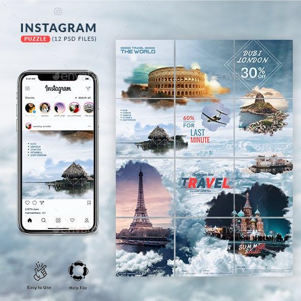 Travel Instagram Puzzle