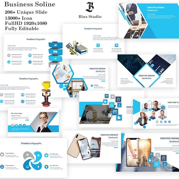 Business Soline Google Slide Template