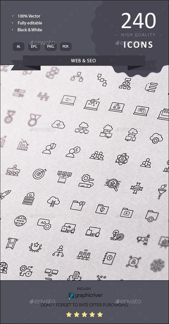 web seo - Web Icons
