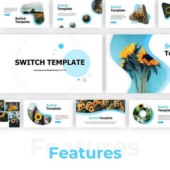 Switch - Creative Presentaion PowerPoint Template