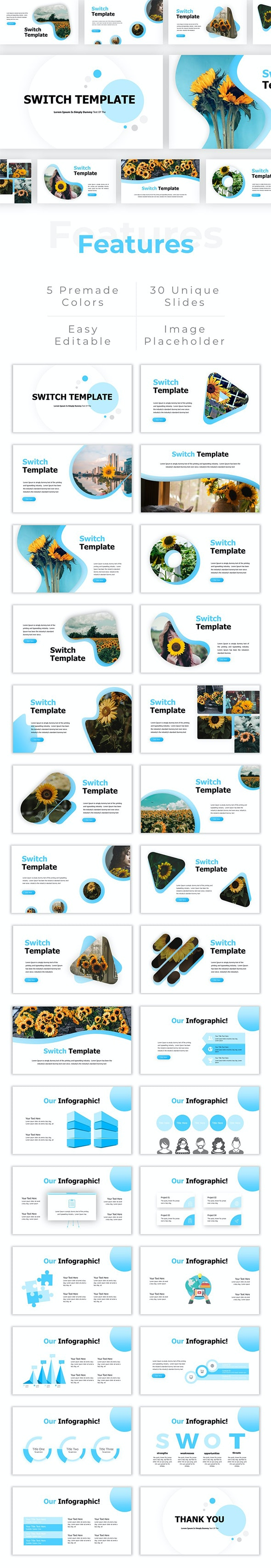 Switch - Google Slides Templates - Google Slides Presentation Templates