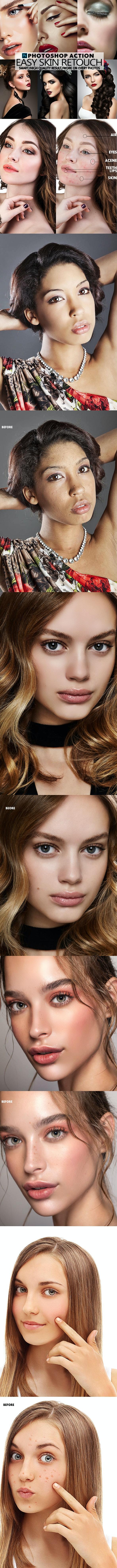 Easy Skin Photoshop - Actions Photoshop