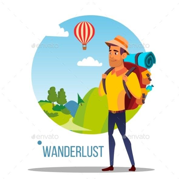 Wanderlust Vector