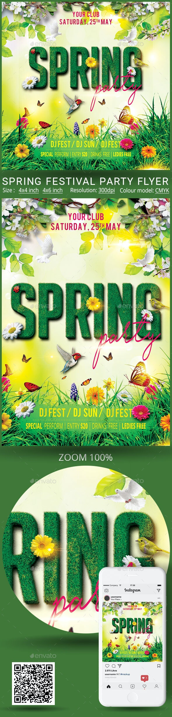 Spring - Events Flyers