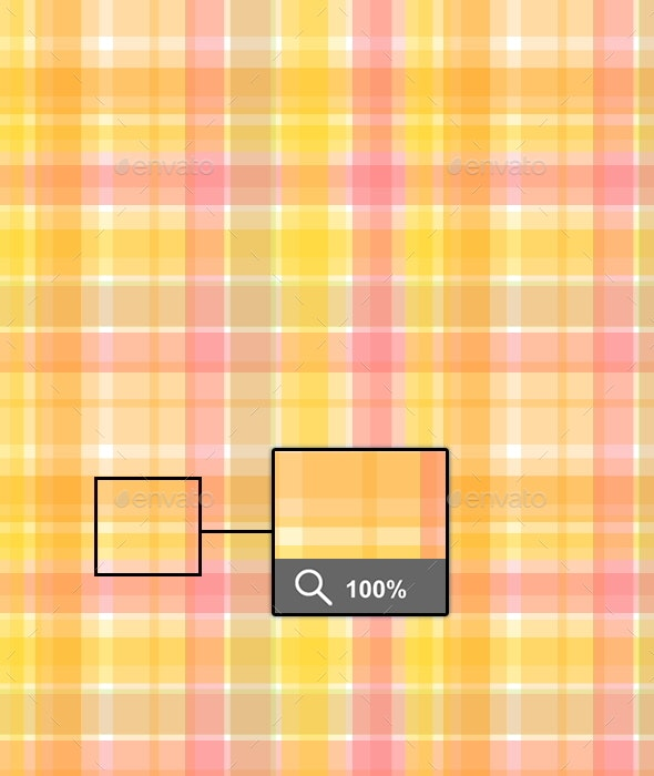 Sunny Plaid Pattern - Patterns Backgrounds