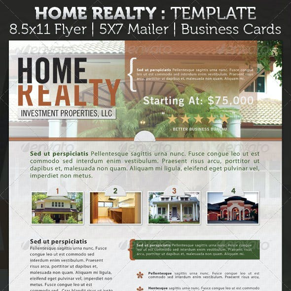 Real Estate Advertisement Package Template