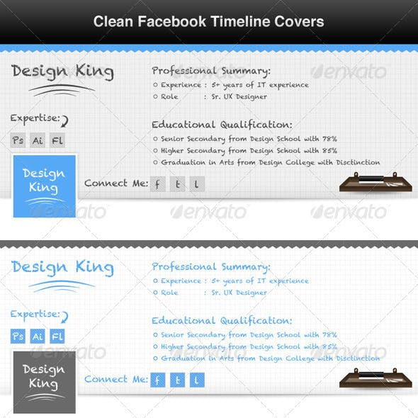 Facebook Timeline Cover - Profile Page