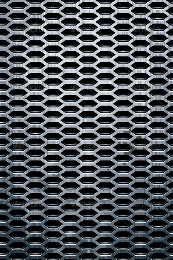 Grungy Metal Texture - Backgrounds Decorative