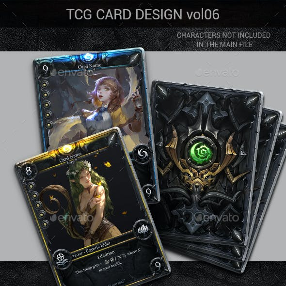 TCG Card Design Vol 6