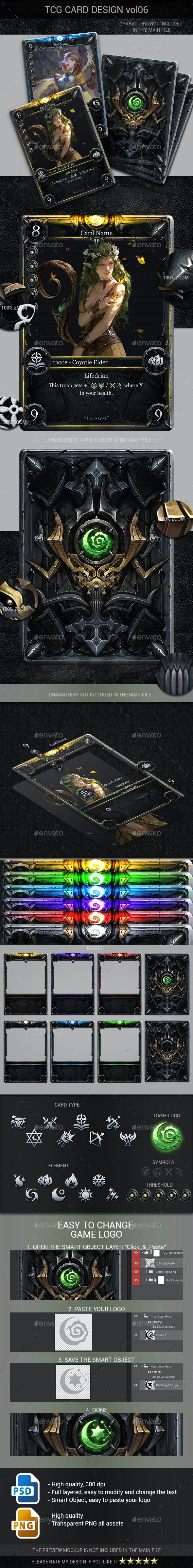 TCG Card Design Vol 6