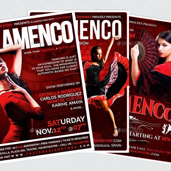 Flamenco Flyer Bundle V1