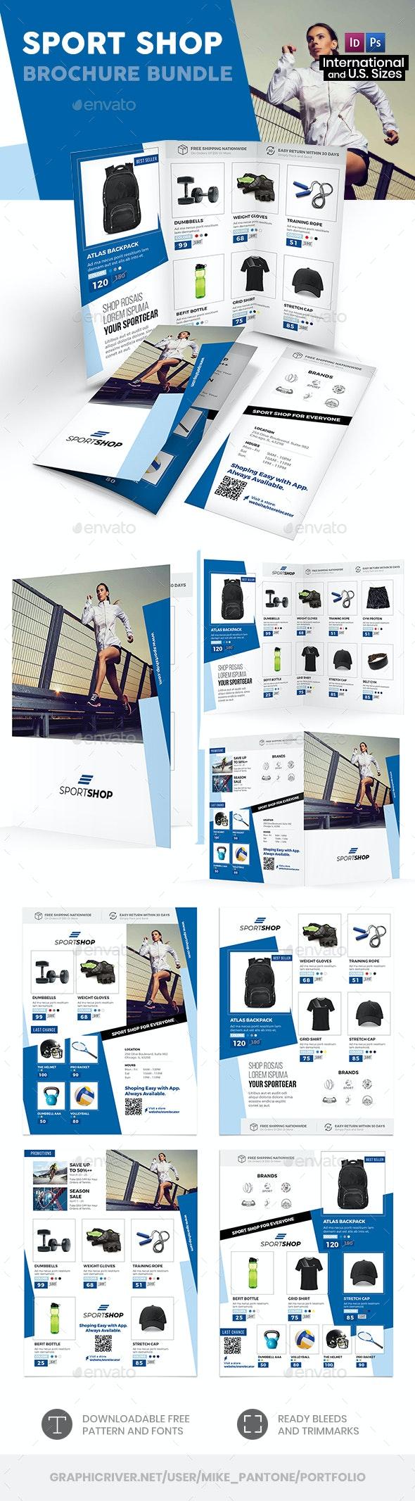 Sport Shop Print Bundle 2 - Informational Brochures