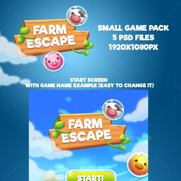 Farm Escape Shooter Small Game Pack